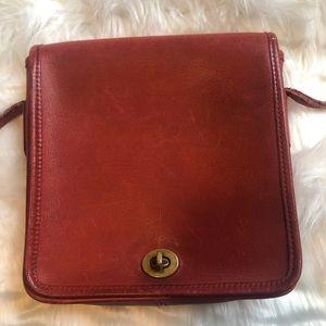 Coach Bags - Vintage Red Coach Bag